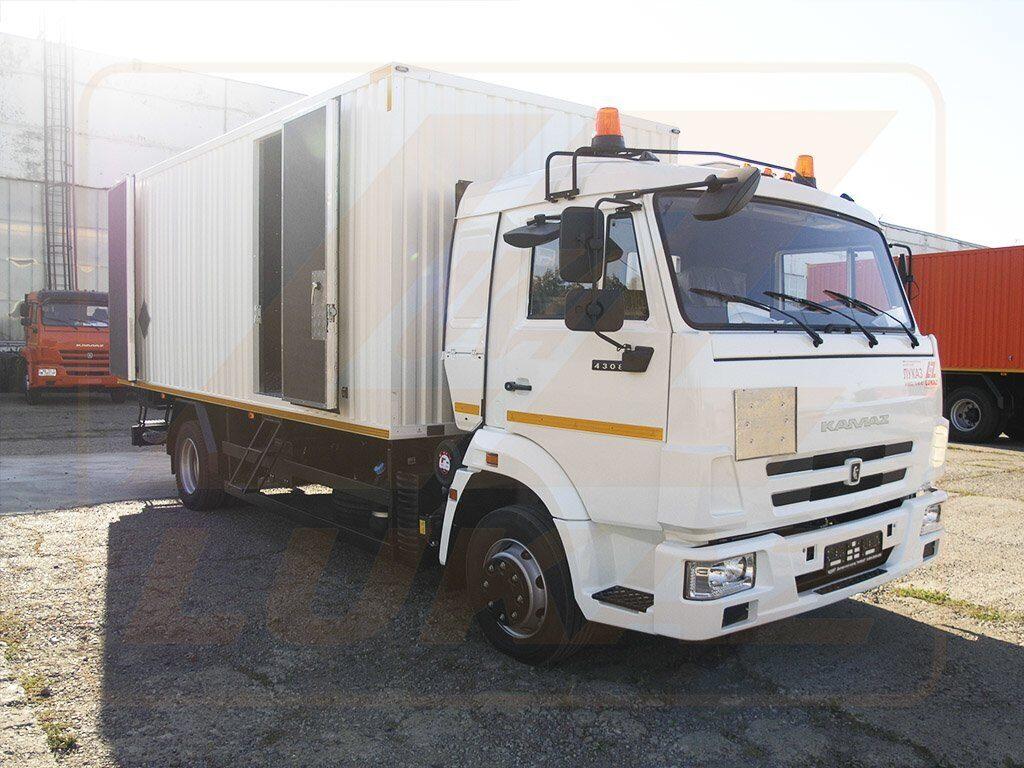 КАМАЗ 4308 для перевозки взрывчатых материалов